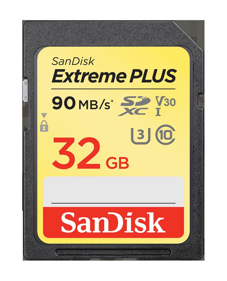 SanDisk Extreme Plus SDHC/SDXC UHS-I