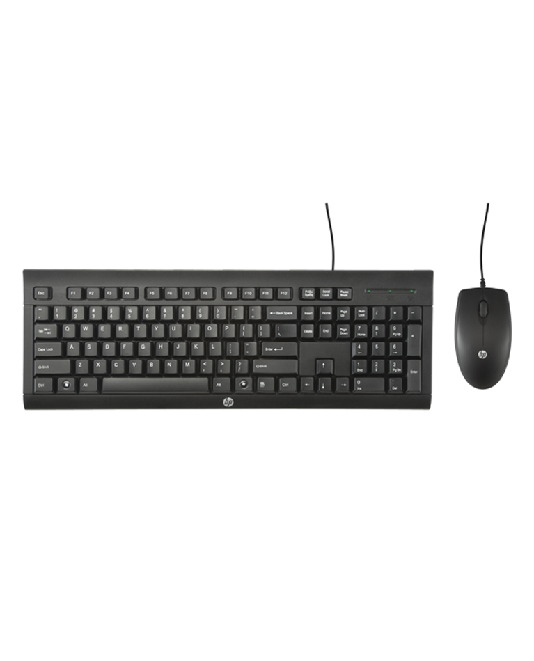 HP Keyboard and Mouse C2500 Wired