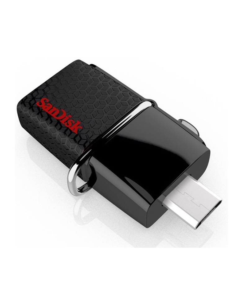 SanDisk Ultra Dual USB Flash Drive 3.0 (Black)