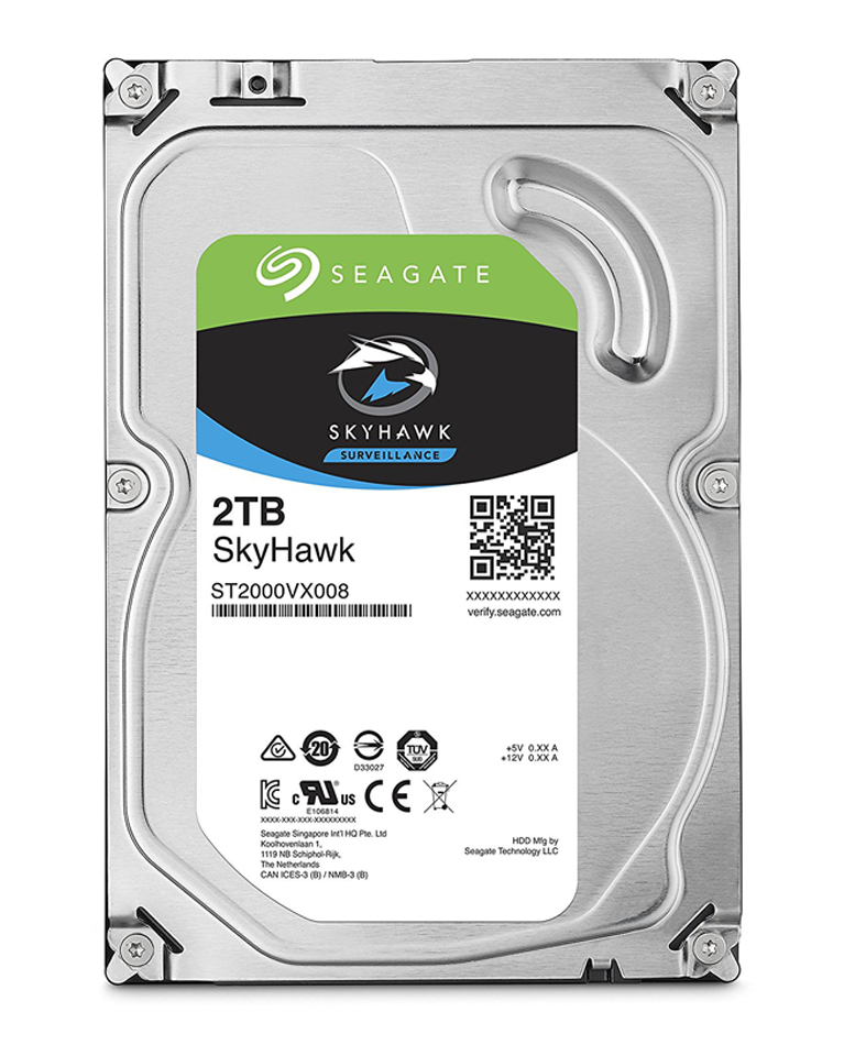 Seagate 2TB Barracuda35 SATA Hard Drive 7200RPM 64MB
