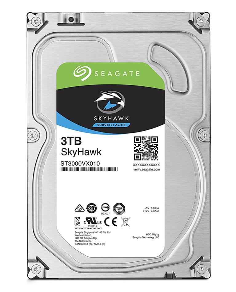 Seagate 3TB Skyhawk Hard Drive 5900RPM 64MB