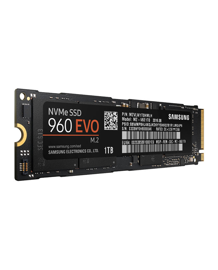 Samsung SSD 960 EVO NVMe M.2