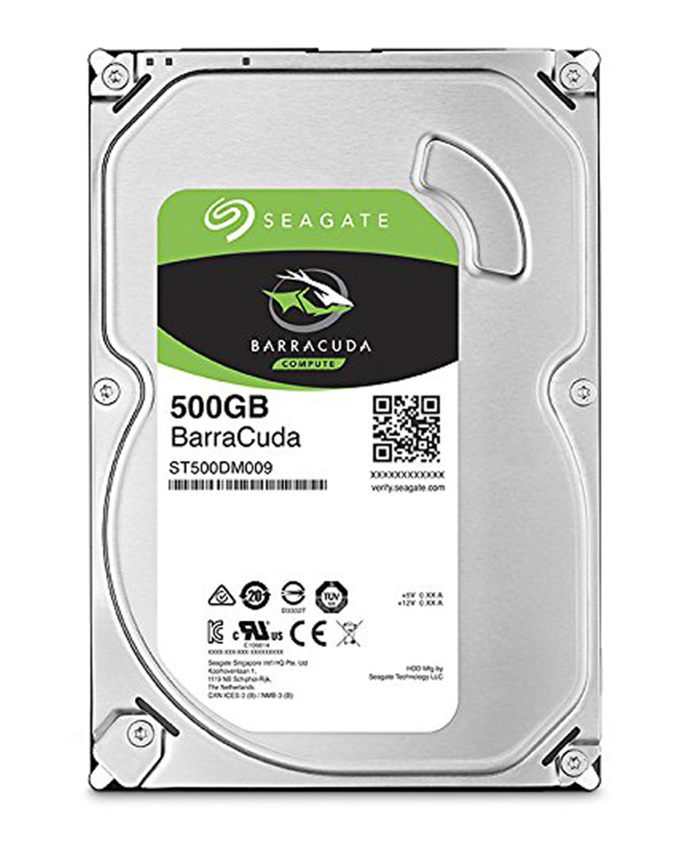Seagate 500GB Barracuda35 SATA Hard Drive 7200RPM 32MB